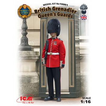 Фигура, Гренадер Королевской Гвардии Великобритании сборная модель