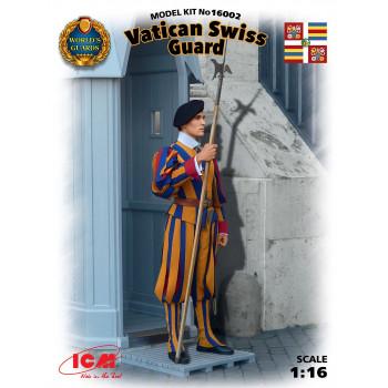 Фигура, Швейцарский гвардеец стражи Ватикана сборная модель