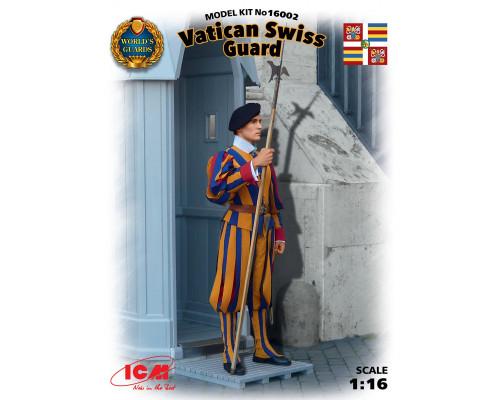 16002 ICM Фигура, Швейцарский гвардеец стражи Ватикана, 1/16