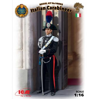 Фигура, Итальянский карабинер сборная модель