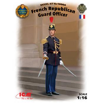 Фигура, Офицер Республиканской гвардии Франции сборная модель