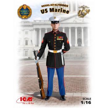 Фигура, Сержант морской пехоты США сборная модель