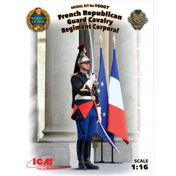 Фигура, Капрал кавалерийского полка Республиканской гвардии Франции сборная модель