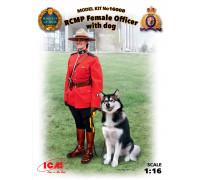 Фигура, Офицер Королевской Канадской Конной Полиции с собакой