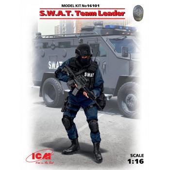 Фигура, Командир группы S.W.A.T. сборная модель
