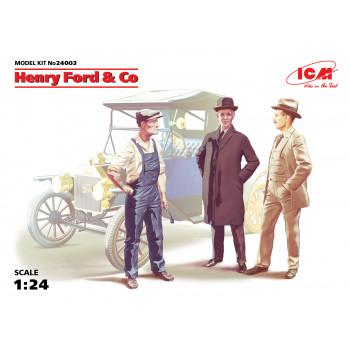 Фигуры Генри Форд и Ко (3 фигуры) сборная модель