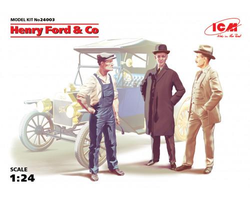 Фигуры Генри Форд и Ко (3 фигуры)