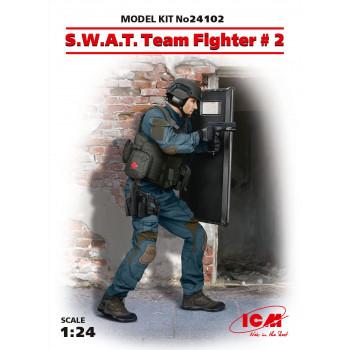 Фигура, Боец группы S.W.A.T. №2 сборная модель