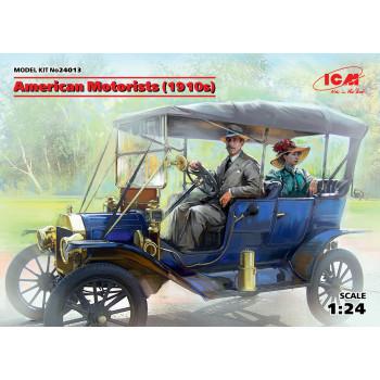 Фигуры, Американские автолюбители (1910-е г.) сборная модель