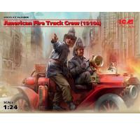 Фигуры, Экипаж американской пожарной машины (1910-е г.г.)
