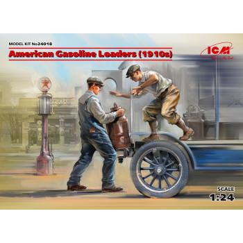 Фигуры, Американские грузчики бензина (1910-е г.) сборная модель