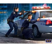 Фигуры, Серия Ограбление, набор № 1. Сержант Джек Мелгоза и патрульный полицейский Салли Тейлор