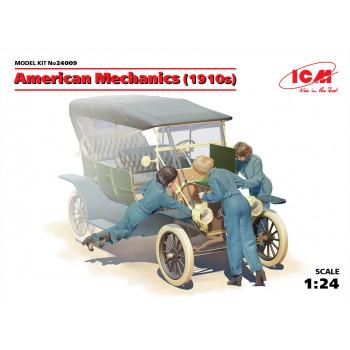 Фигуры, Американские механики (1910-е г.г.) сборная модель