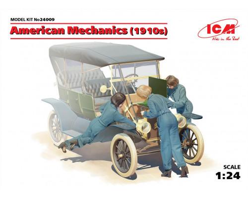 24009 ICM Фигуры, Американские механики (1910-е г.г.), 1/24