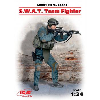 Фигура, Боец группы S.W.A.T. сборная модель