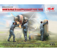 Фигуры, Наземный персонал ВВС Великобритании II МВ (1939-1945) (3 фигуры)