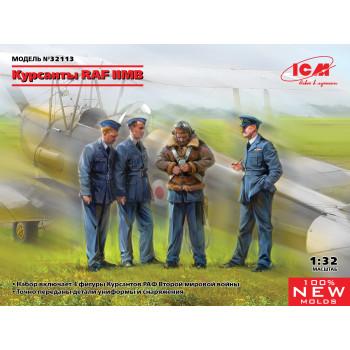 Фигуры, Курсанты RAF II МВ сборная модель