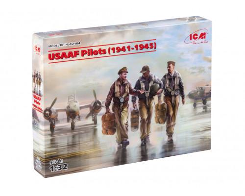 32104 ICM Фигуры, Пилоты ВВС армии США (1941-1945 г.), 1/32