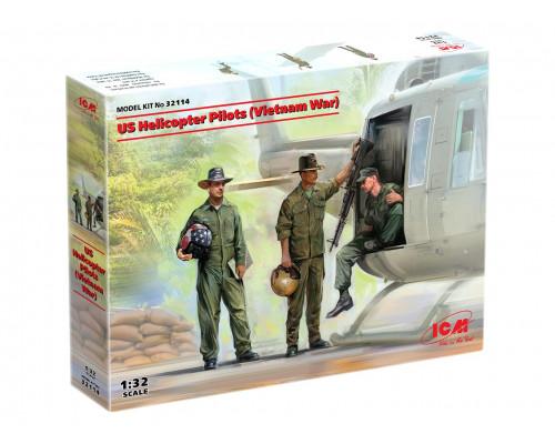 32114 ICM Фигуры, Американские пилоты вертолета (война во Вьетнаме), 1/32
