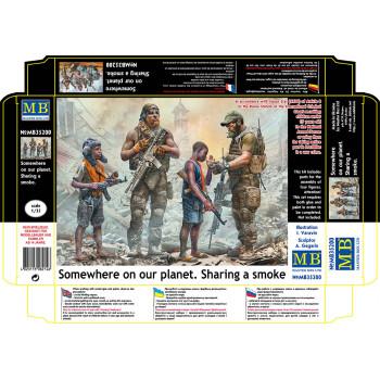 Фигуры, На страже. Серия Гражданской войны в США