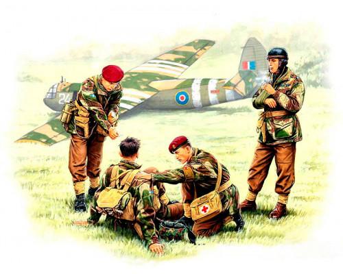 Фигуры Английские парашутисты 44г.Набор 2