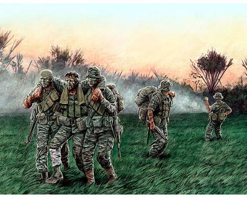Фигуры Американские солдаты во Вьетнаме