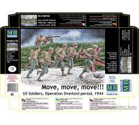 "Фигуры ""Вперед, вперед, вперед!!! ""Американские солдаты, операция Оверлорд, 1944"""