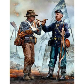 Фигуры, Воссоединение семьи – встреча братьев. Серия Гражданской войны в США