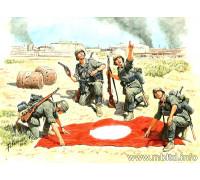 """Фигуры """"Штуки летять!"""", Немецкая пехота, Сталинград, лето 1942 г"""
