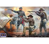 Фигуры, Сделай или умри! 18-й пехотный полк Северной Каролины, армия Северной Виржинии, битва под Чанселорсвиллем 2 мая 1863 г. Американская серия гражданской войны