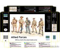 Фигуры Союзные Войска, Северная Африка