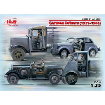 Фигуры, Германские водители (1939-1945 г.) сборная модель