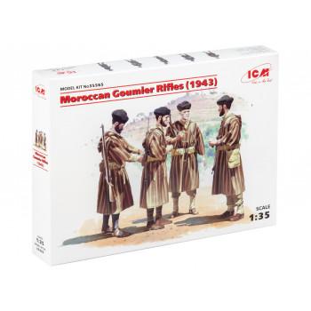 35565 ICM Фигуры Марокканские гумьеры (1943 г.), 1/35