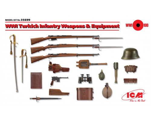 Вооружение и снаряжение пехоты Турции І МВ