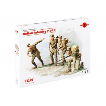 35687 ICM Пехота Италии (1915г.), (4 фигуры), 1/35