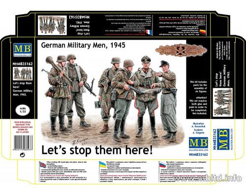 Фигуры Немецкие военные, 1945