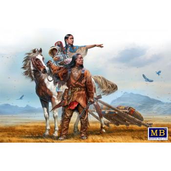 Фигуры, Серия Индейских войн. На Великих Равнинах