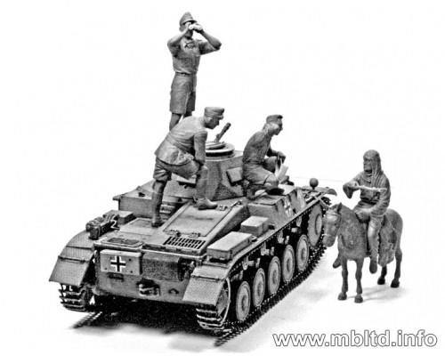 Фигуры Немецкие танкисты, ДАК