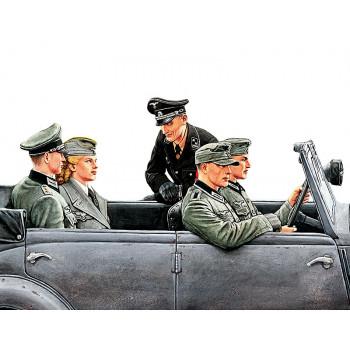 Фигуры Немецкие водители 2 МВ