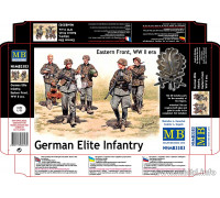 """Фигуры """"Германская элитная пехота, Восточный Фронт, 2МВ"""