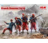 Фигуры, Французские зуавы (1914 г.)