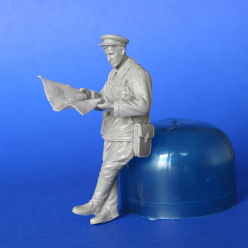 Советский танковый офицер WW2