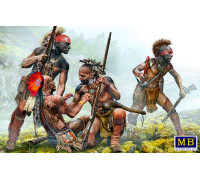 Фигуры, «Защитный круг». Серия Индейских войн, XVIII век. Набор № 1