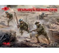 Фигуры, Пехота США в противогазах (1918 г.)