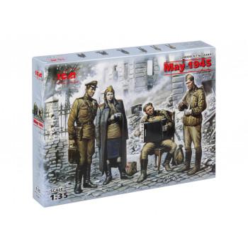 "35541 ICM Фигуры ""Май 1945 г. "", 1/35"