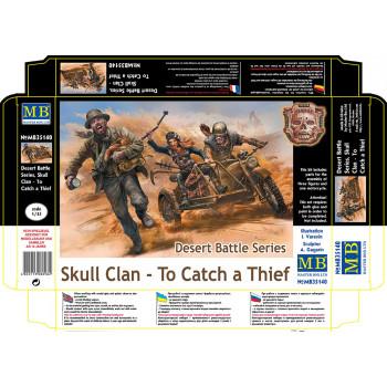 Фигуры Серия битвы в пустыне, Клан Черепа. Поймать вора