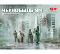 35904 ICM Фигуры, Чернобыль№4. Дезактиваторы, 1/35