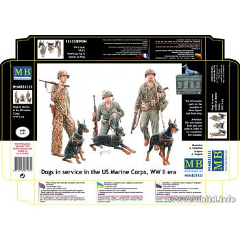 Фигуры Собаки на службе в корпусе морской пехоты США