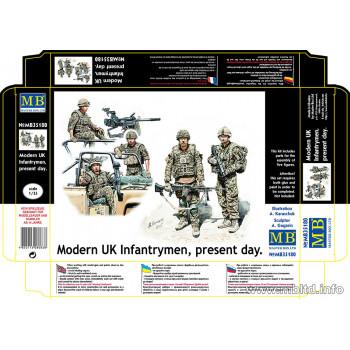 Фигуры Современная британская пехота, наше время