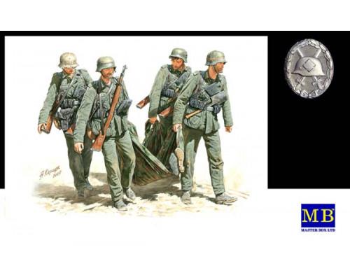 Фигуры Вынос раненного,немецкая пехота Сталинград